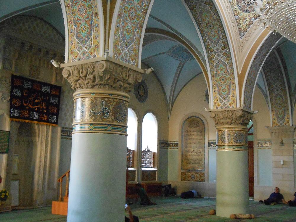 Juma Mosque In Old City Of Baku